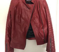Nova crvena kozna jakna. Newww