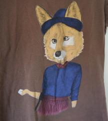 Pull&Bear majica LISICA