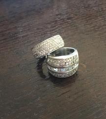 Srebrni prsten cirkoni