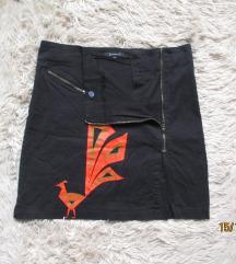 ST-MARTINS crna suknja