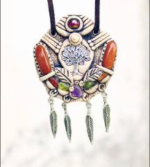 BOHO ogrlica bohemian ogrlica