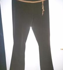 Braon elegantne pantalone