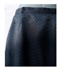 suknja crna sa sivim šarama br 40 ASTIBO