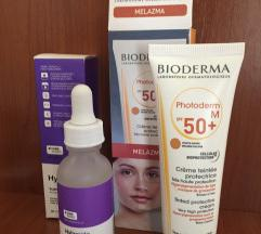 BIODEMA SPF 50 + Hylamide gratis