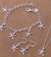 Set Starfish 925
