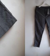 Esmara Premium sive poslovne pantalone, M