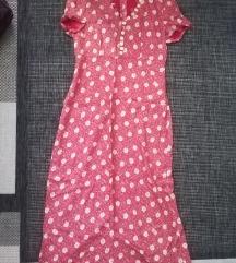Sivena zenska haljina