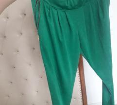 Zelene pantalone trenerka