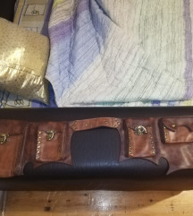 Kožna kajiš torbica