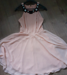 Svetlo pink haljina