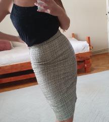 Duboka uska suknja