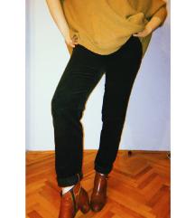 ZARA somotne pantalone