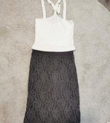 Nova čipkasta suknjica sa postavom