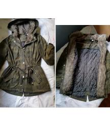 H&M Zimska jakna strukirana