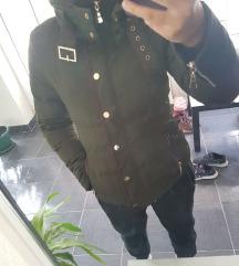 Maslinasto-zelena jakna