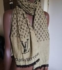 Louis Vuitton veliki šal sa 2 lica kao nov