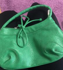 Zelena manja torbica