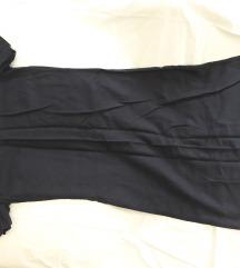 Teget ravna haljina do kolena