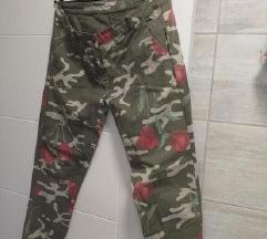 Italijanske letnje maskirne pantalone