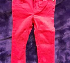 Dopodopo crvene pantalonice za devojcice,92