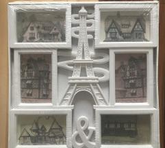 Ram za slike Alfelov toranj 40x40 NOVO