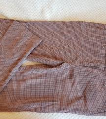 Karirane pantalone NOVO