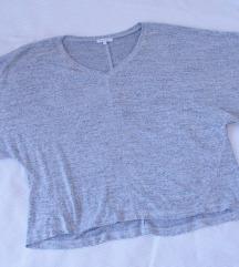Deane & White siva oversized  bluza