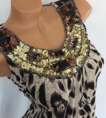 MORGAN ★ animal haljina bogato ukrašenog dekoltea