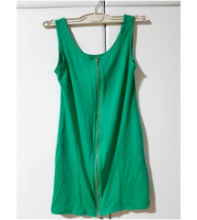 Mini zelena haljina