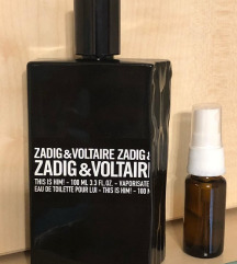 Zadig & Voltaire This is Him 5/10ml Dekant