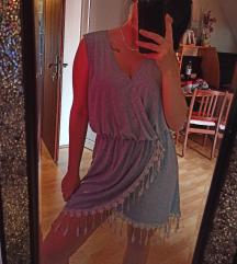 Prelepa siva lagana haljinica
