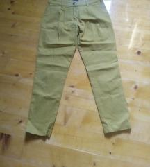 Zute pamucne pantalone