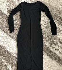 Crna uska haljina s