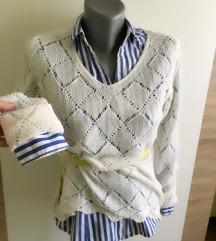 Presladak džemperić i kosuljica Hm