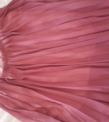 Plisirana maxi suknja univerzalna