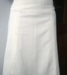 Bela klasicna suknja L