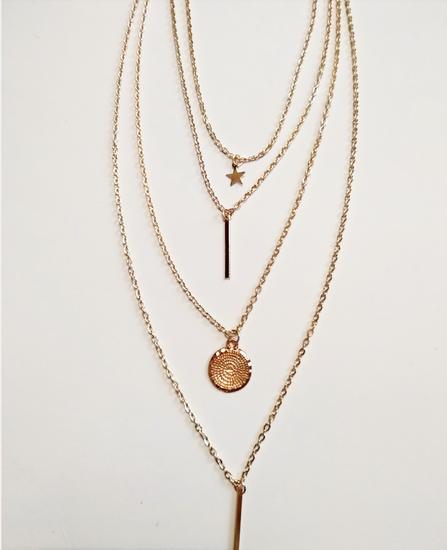 Slojevita ogrlica 4 😍