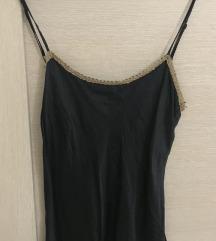 svilena crna majica