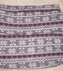 Zimska terranova suknja