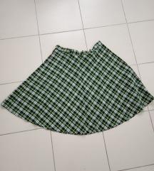 Karirana suknja SNIZENO NA 300