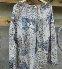 Retro suknja 100% svila