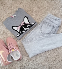 Sivi džemperak
