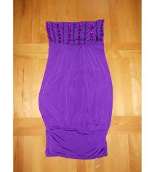 Ljubicasta top tunika haljina S/M/L vel