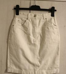 Teksas mini suknja BELA