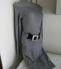 Camac siva topla haljinica S/M