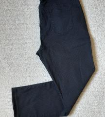 Pantalone/farmerke sa kockicama, teget, Janina