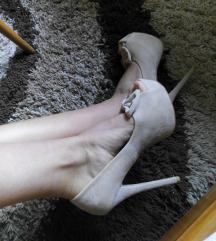 Cipele na stiklu! NUDE.. NOVE!!!