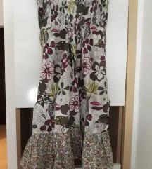 Letnja cvetna haljina RASPRODAJA