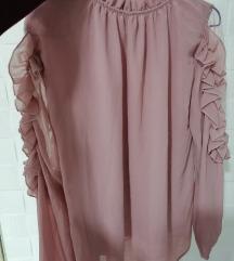 Prljavo roze bluzica
