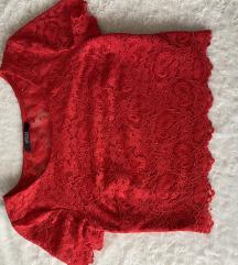 original GUESS čipkana majica
